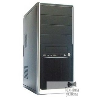 SuperPower Miditower SP Winard 3010 600W black/silver 2*USB 2*Audio 24pin ATX