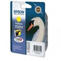 Оригинальный картридж T08144A для EPSON ST R270, R290, RX590 жёлтый, увеличенный, струйный 8200-01