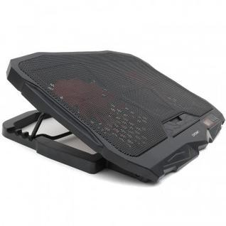 Подставка для ноутбука Crown, охлажд, до 17 дюймов, 4 вент, черная,CMLS-01