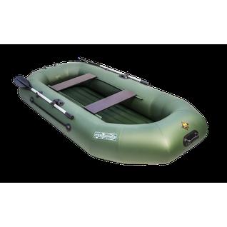 Надувная лодка Таймень N-270 НД (двухместная, надувное дно) Мастер лодок