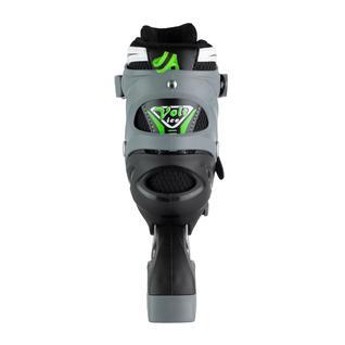 Набор подростковых коньков Maxcity Volt Ice, зеленый размер 31-34