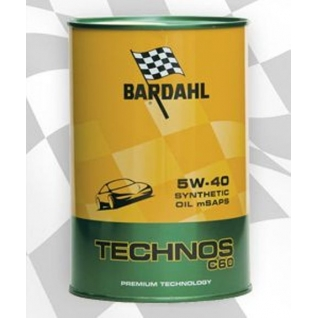 Масло моторное Bardahl Technos Exceed C60 5W-40 (PAO-100%)