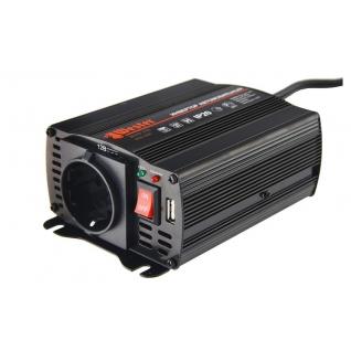 Преобразователь инверторный а/м WESTER MSW250 12-220В+USB; 250Вт модифицированная...