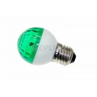 Neon-Night Лампа строб e27 ∅50мм зеленая