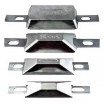 Tecnoseal Анод для корпуса с креплением Tecnoseal 00387/1 127 x 66 x 25 мм