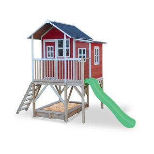 Exit Toys Игровой Дом С Горкой 550 Красный