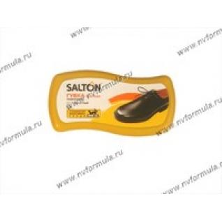 Губка SALTON для обуви с норковым маслом для гладкой кожи бесцветная