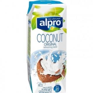 Напиток кокосовый с рисом с кальцием и витаминами ALPRO 0,25л 15шт/уп