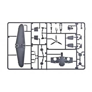 """Сборная модель немецкого истребителя """"Мессершмитт BF109F-2"""", 1:72 Звезда"""