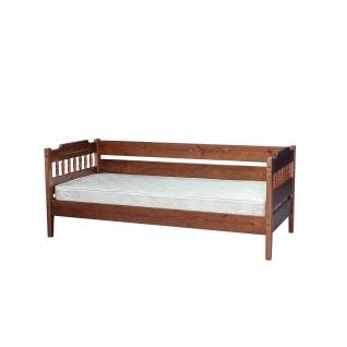 Кровать сосна с тремя спинками