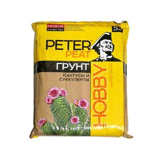 Грунт PETER PEAT Кактусы и суккуленты линия Хобби 5 л