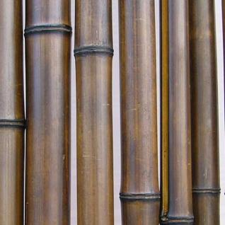 Ствол половинка бамбука 20-30 мм шоколадный 2.8-3 м