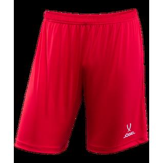 Шорты футбольные Jögel Camp Jft-1120-021, красный/белый размер XXL