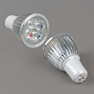 Elvan MR16 LED5*1W 220V 3000K теплая белая светодиодная лампа