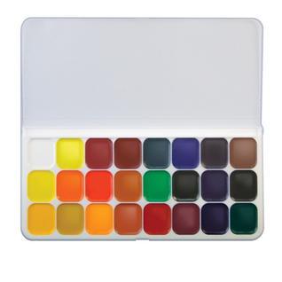 Краски акварельные Луч Люкс 24 цв., б/кисти, 14С 1039-08