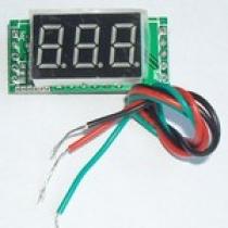 амперметр мини 0-100А + шунт