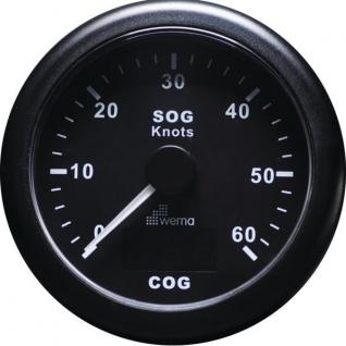Wema Индикатор скорости GPS Wema IGPS-BB-60 12 В 85 мм
