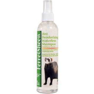8in1 8in1 шампунь-спрей для хорьков Ferretsheen 2in1 Waterless Shampoo без смывания дезодорирующий 2в1 236 мл