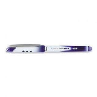 Роллер PILOT BLN-VBG5 резин. манжет жидкие чернила синий 0,5мм