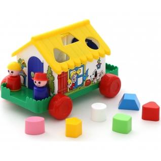 Игровой дом (в сеточке) Полесье