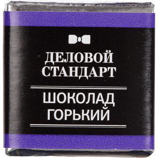 Шоколад порционный Деловой Стандарт горький 72%, 5г/160шт