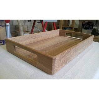Поднос деревянный ДУБ