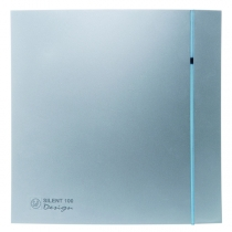 Вентилятор Soler & Palau Silent-100 CHZ Silver Design-3C