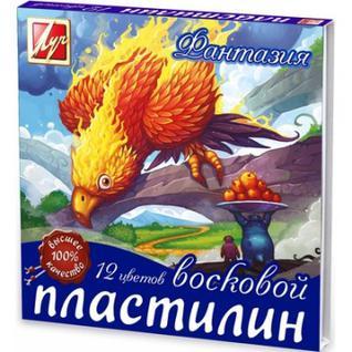 Пластилин Луч Фантазия 12цв со стеком 25с 1523-08