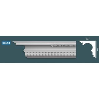 КВ513 Карниз гипсовый с орнаментом - 200х200мм