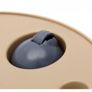 Горшок для цветов Фиджи D 330 мм/16 л на колесиках шоколадный ING1557ШОК