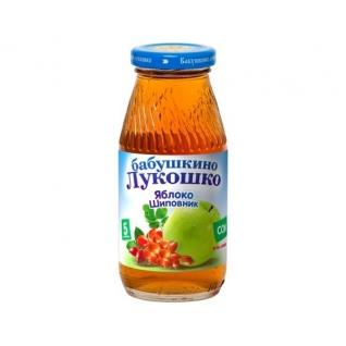"Сок ""Бабушкино Лукошко"" - Яблочно-шиповниковый (с 5 мес.), 0.2 л Бабушкино лукошко"