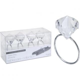 Кольцо для салфеток Алмаз (4шт.)