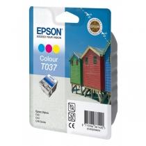Оригинальный картридж T037040 для EPSON ST C42, C44, C46 цветной, струйный 8146-01