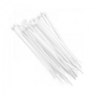 Хомут 350 мм х 5 мм, 100 шт, нейлон, Rexant, белый, 07-0350