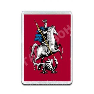Магнит Флаг Москвы