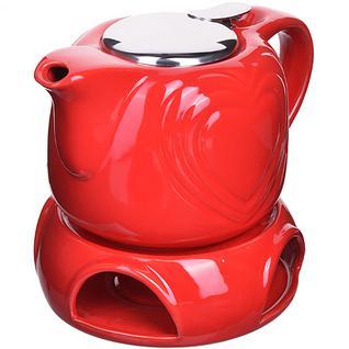 28687 Завароч/чайник 700мл подст/подогрев LR (х8) Loraine