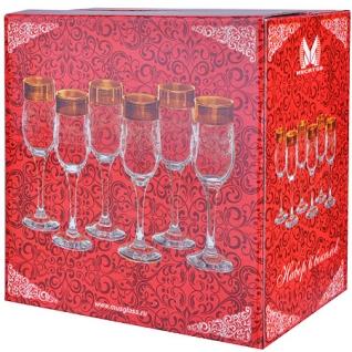 MS160-41 Набор 6-ти бокалов д/шампанского 200м(х8) MayerBoch