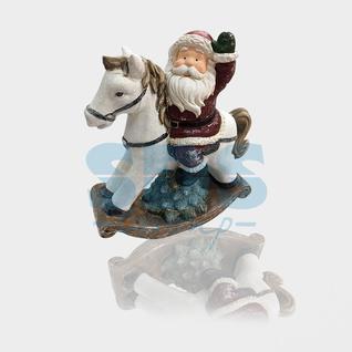Neon-Night Керамическая фигурка «Дед Мороз на коне» 35х15х39.8 см