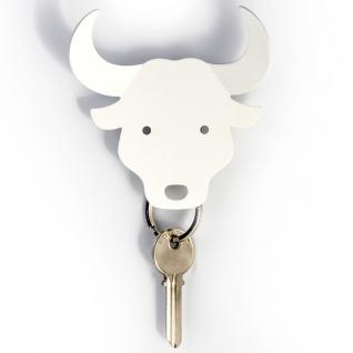 Держатель для ключей и аксессуаров Bull белый