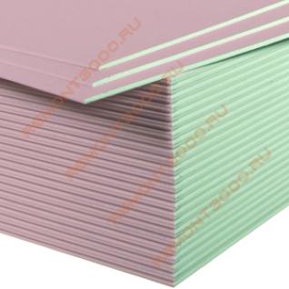 МАГМА ГКЛО Гипсокартон огнестойкий 2500х1200х12,5мм (3,0м2) / МАГМА ГКЛО Гипсокартонный лист огнестойкий 2500х1200х12,5мм (3,0 кв.м.)