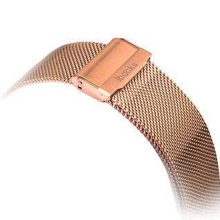 Ремешок из нержавеющей стали iBacks Double-buckle Stainless Steel Watchband для Apple Watch 40мм/ 38мм - (ip60227) Золото
