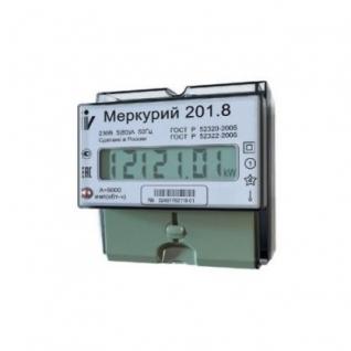 Электросчетчик Меркурий 201.8 10(80)А/230В однотарифный