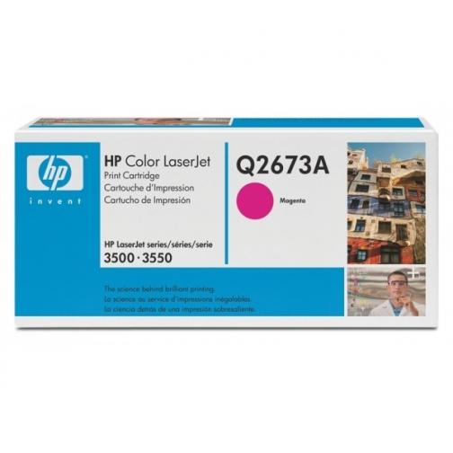 Оригинальный картридж Q2673A для HP CLJ 3500 (пурпурный, 4000 стр.) 878-01 Hewlett-Packard 852433 1