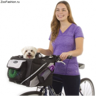 Сумка для собак на велосипед ( )