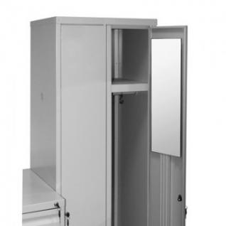 Зеркало KD_Классик-10 на металлические шкафы 600х200