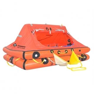 CrewSaver Спасательный плот в сумке Crewsaver ISO Ocean 4 чел 730 x 520 x 320 мм