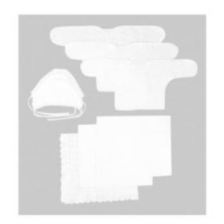 """Комплект на выписку """"Зайка моя"""" (9 предметов) цвет: белый, арт. 14000201 Зайка моя"""