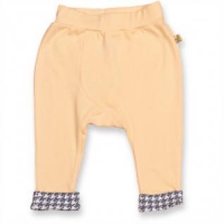 """Штанишки для мальчика """"Зайцы-фотографы"""" на широкой резинке (цвет: персиковый), рост 86 см Free Age Kidswear"""