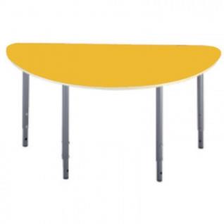 Детская мебель Д_Стол полукругл. 005.327 Рост 0-3 желтый
