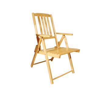 Складное садовое кресло СМКА Комфорт СМ047Б / СМ047Бт